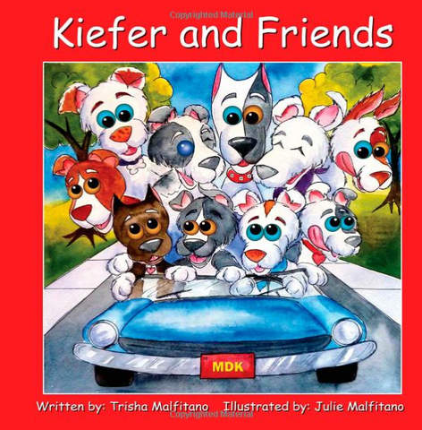 Kiefer and Friends - signed by the author!