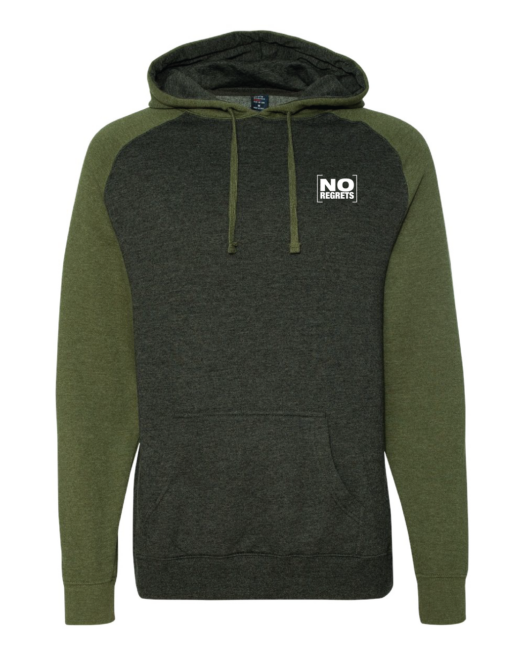 Raglan Hooded Sweatshirt