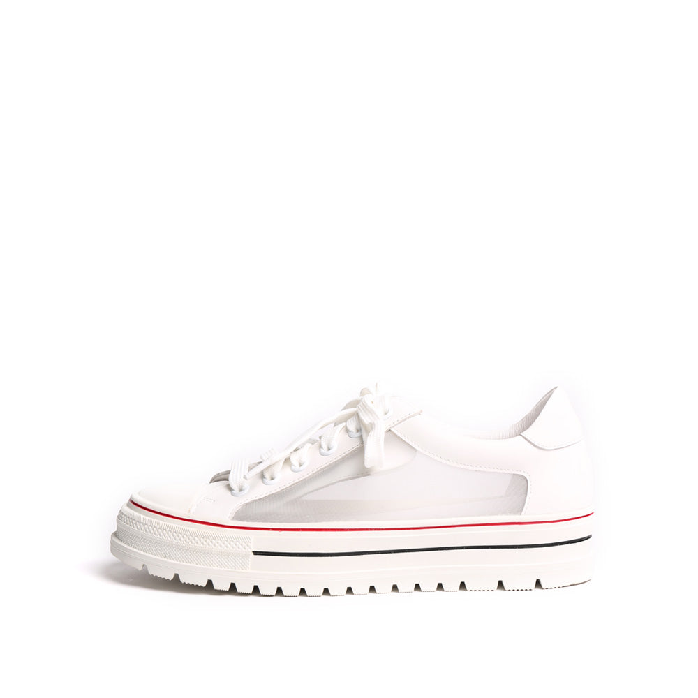 Lace-up Mesh Sneakers - Joy & Peace staccato