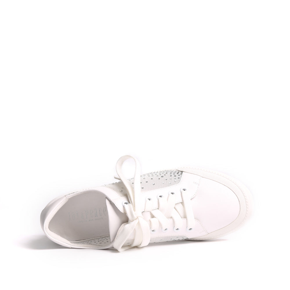 Lace-up High Sole Sneakers - Joy & Peace staccato