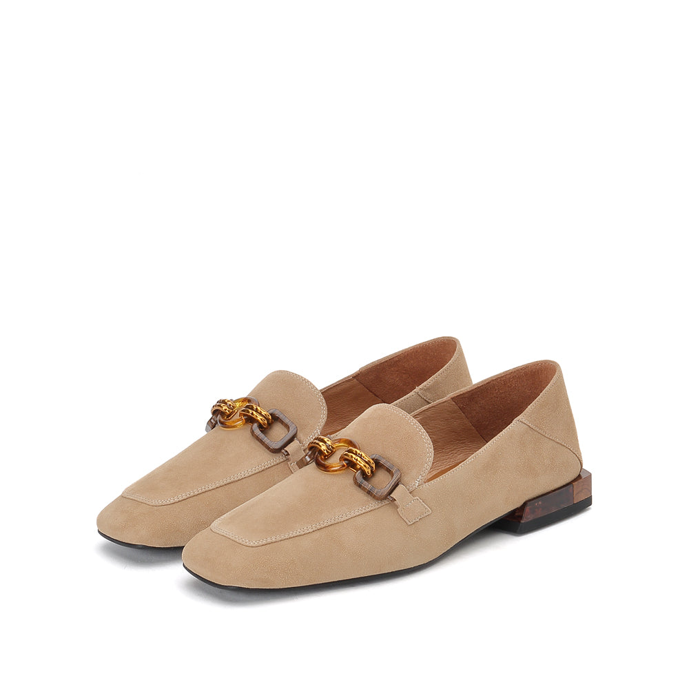 Leather loafers - Joy & Peace staccato