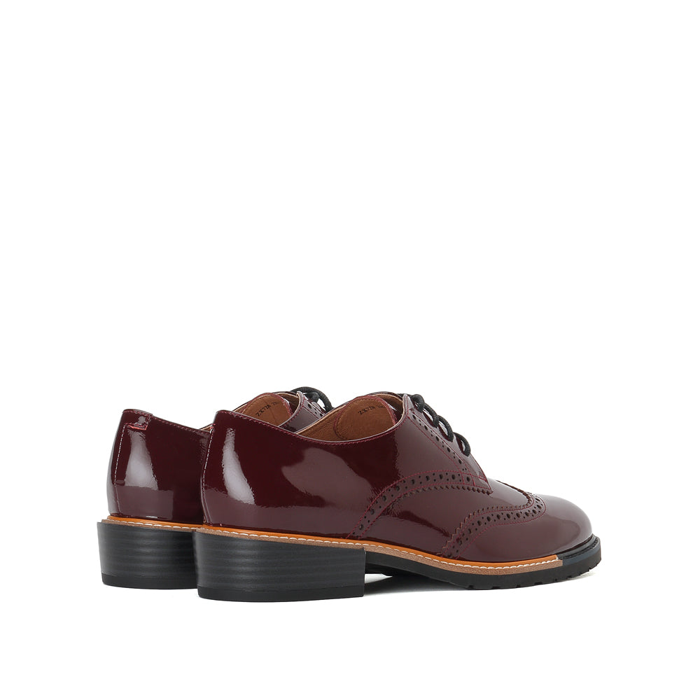 Leather Oxford Shoes - Joy & Peace staccato