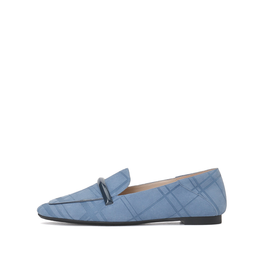 SUEDE LOAFERS - Joy & Peace staccato