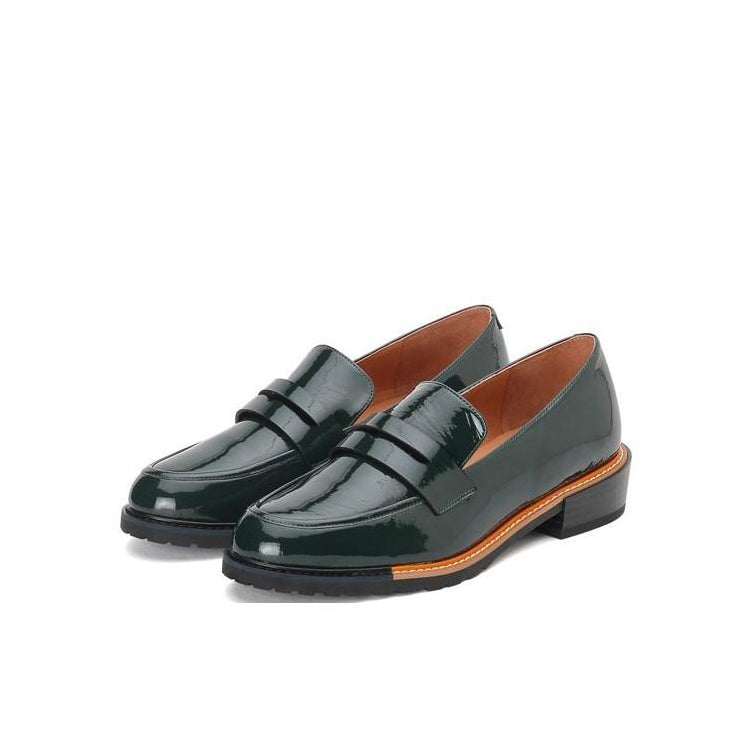 Patent Leather Loafers - Joy & Peace staccato