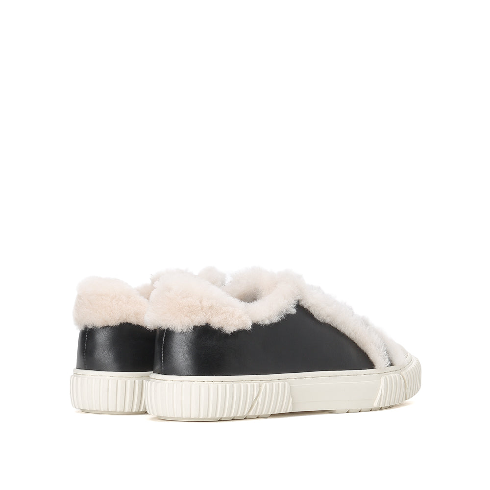Fluffy lace-up Sneakers - Joy & Peace staccato