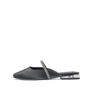 Square Toe Slingback Mules - Joy & Peace staccato