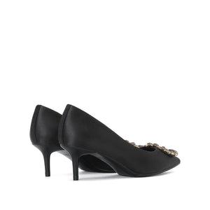 Crystal Buckle Pumps - Joy & Peace staccato
