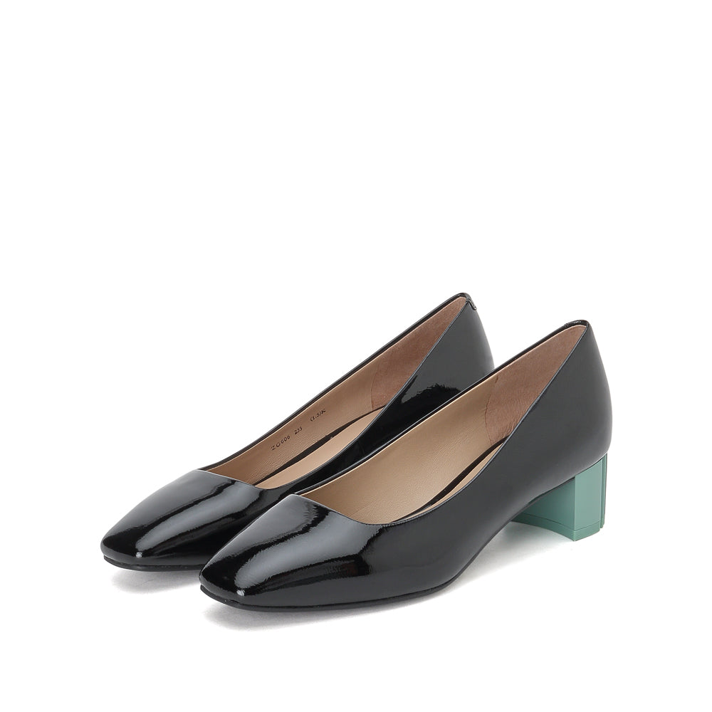Leather HEELS - Joy & Peace staccato