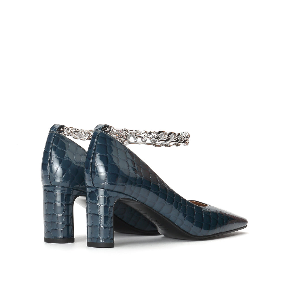 Chained Block Heels - Joy & Peace staccato
