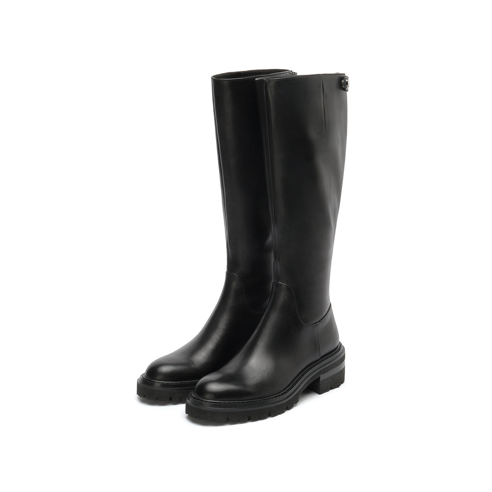 Leather Riding Boots - Joy & Peace staccato