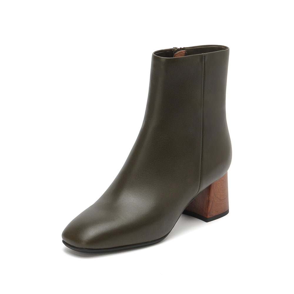 Square Toe Chelsea Boots - Joy & Peace staccato