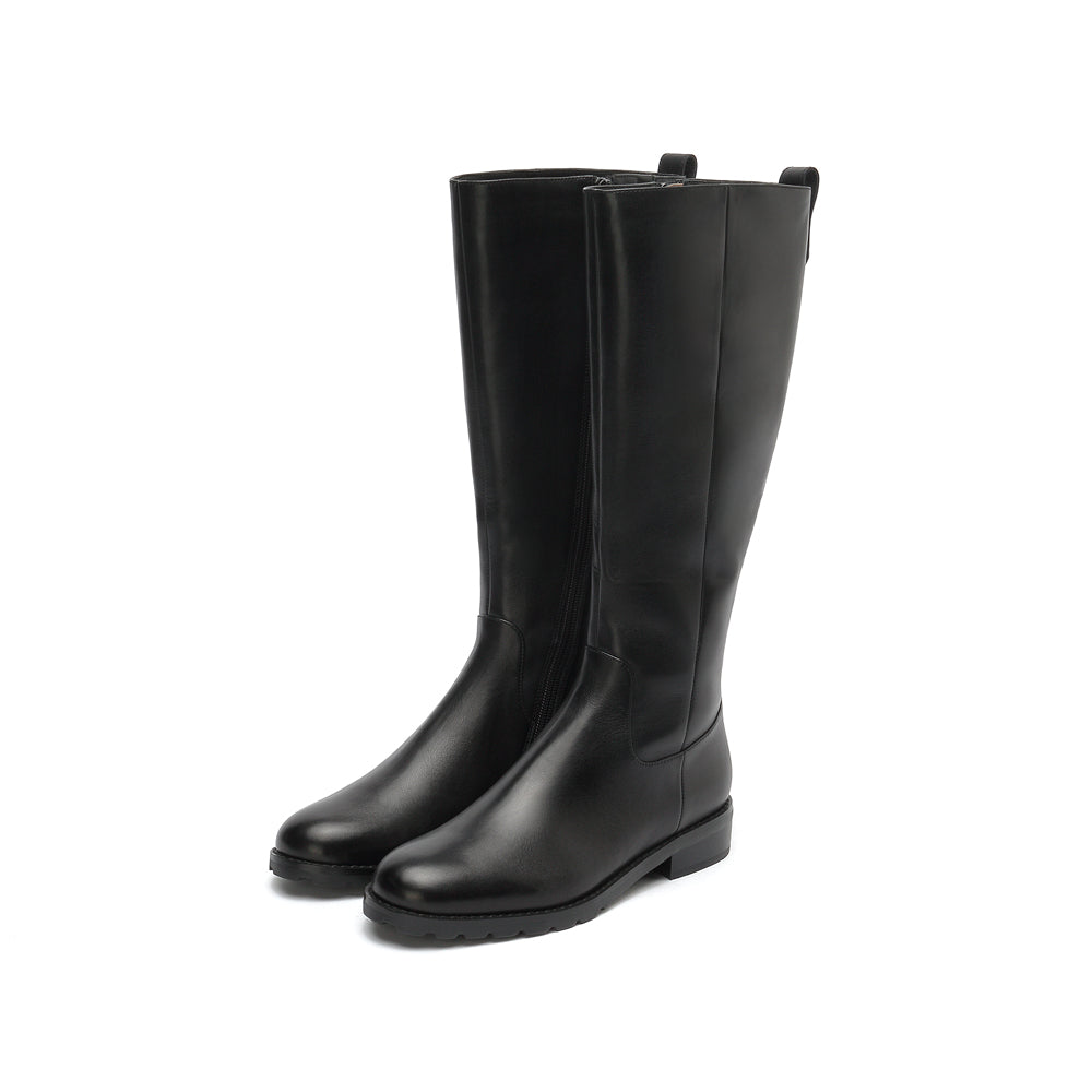 Calf High Boots - Joy & Peace staccato