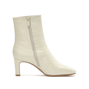Leather Square Toe Heel Boots - Joy & Peace staccato