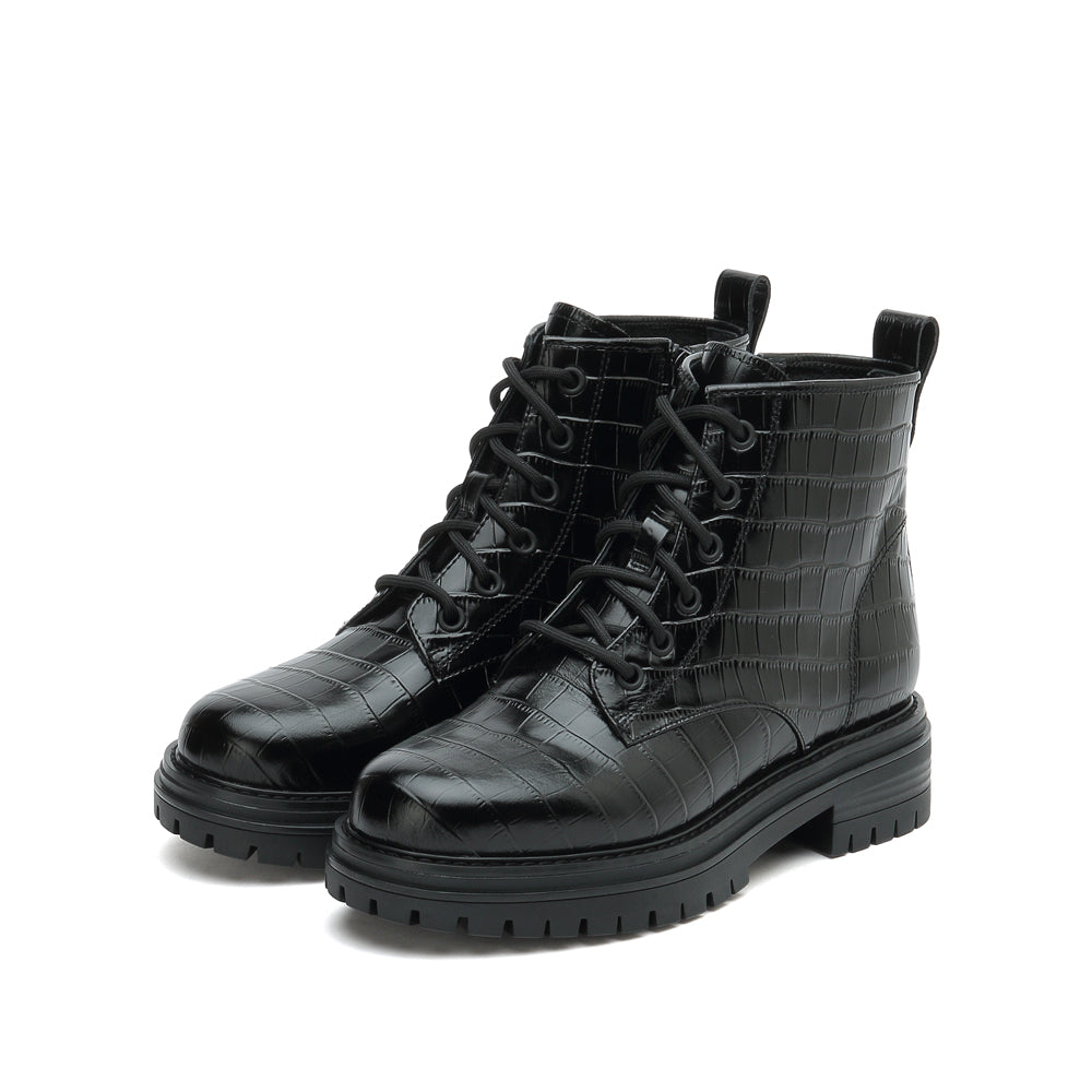 Lace-up Martin Boots - Joy & Peace staccato