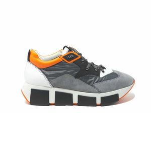 RUNNING SHOES IN LEATHER AND NYLON / VIC MATIE - Joy & Peace staccato