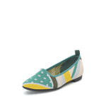 Color Pattern Flats - Joy & Peace staccato
