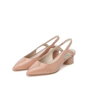 Patent Leather Slingback Pumps - Joy & Peace staccato