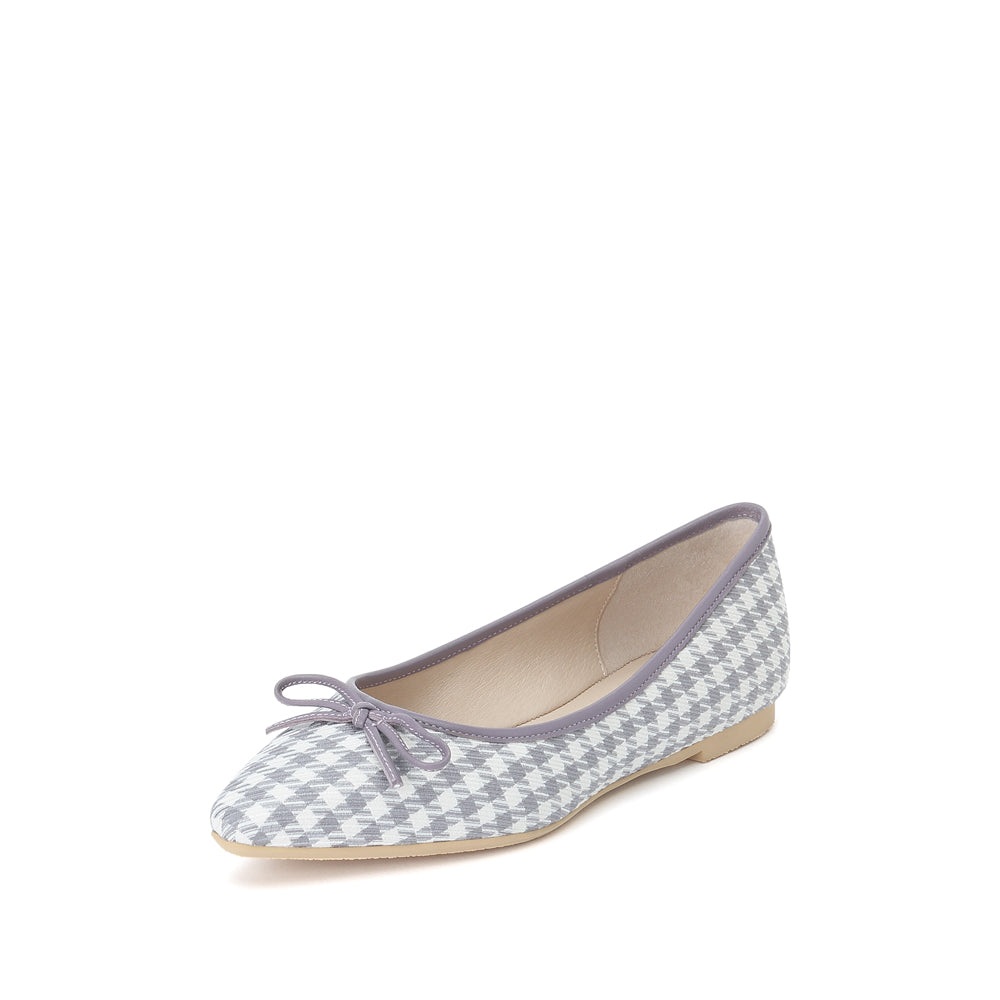 Bow Detail Flats - Joy & Peace staccato