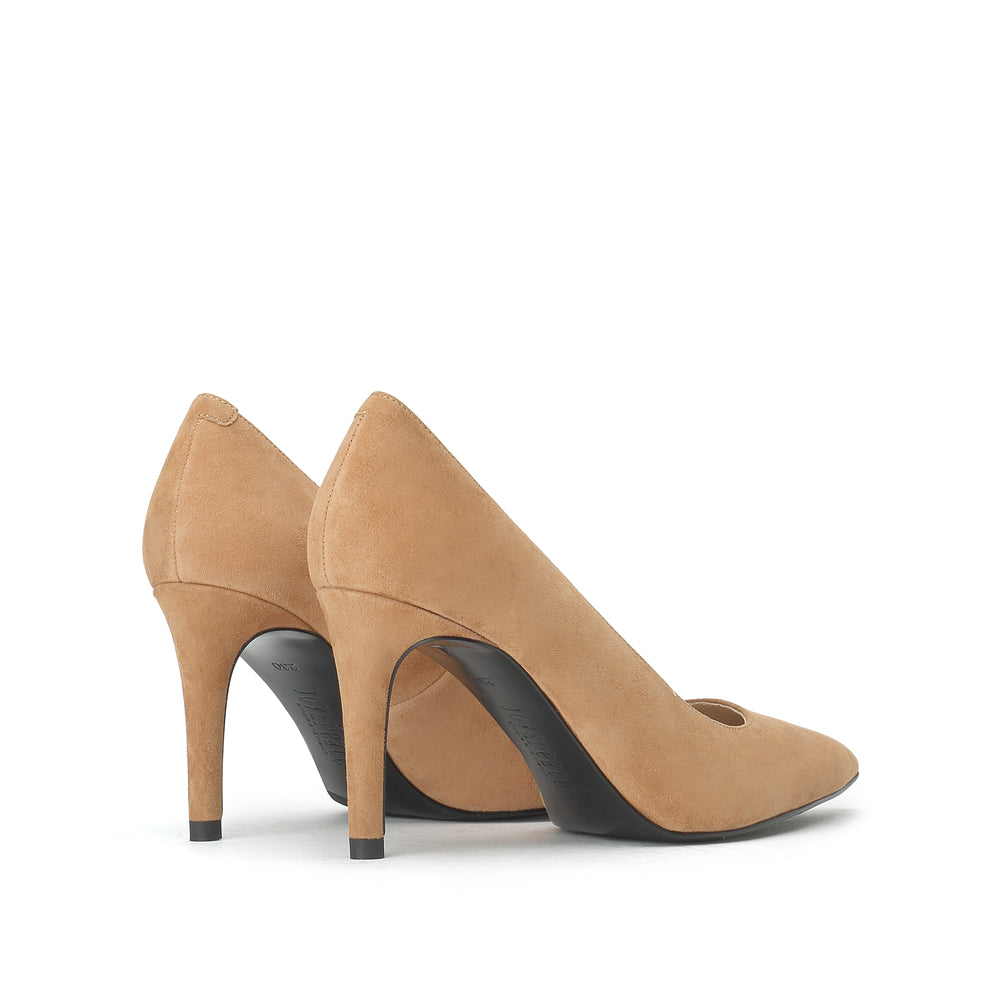 Suede Leather Pumps - Joy & Peace staccato