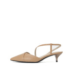 Leather Slingback Pumps - Joy & Peace staccato