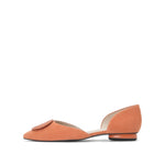 Buckle Suede Flats - Joy & Peace staccato