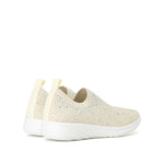 CRYSTAL EMBELLISHED KNITTED SNEAKERS - Joy & Peace staccato