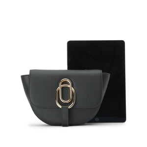 Calf Half Moon Bag - Joy & Peace staccato