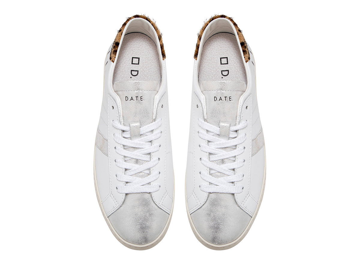 HILL LOW CALF WHITE-LEOPARD / D.A.T.E. - Joy & Peace staccato
