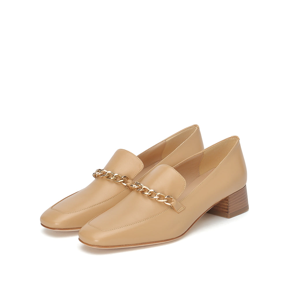 Chain Strap Loafers - Joy & Peace staccato