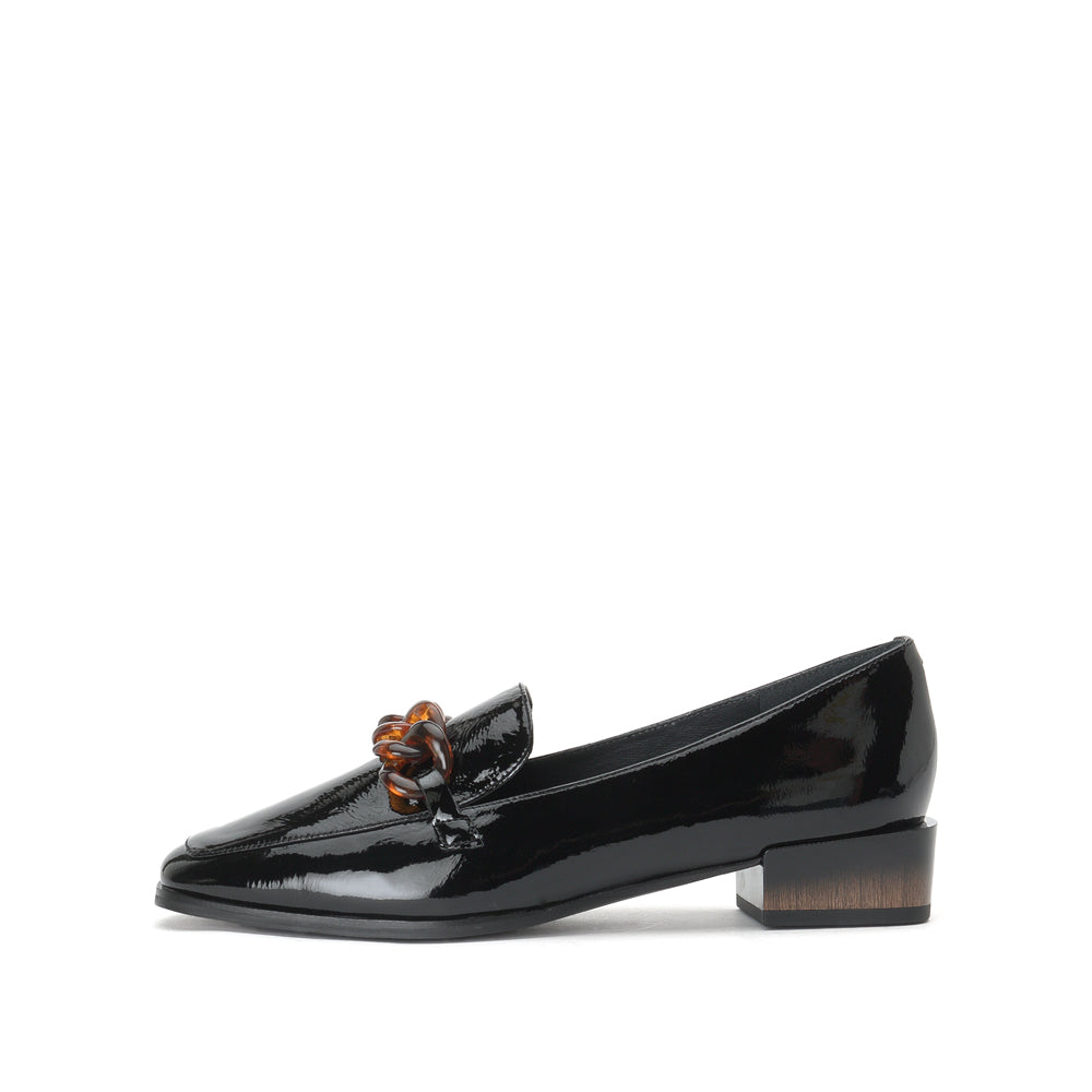 Metal Embellished Loafers - Joy & Peace staccato
