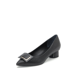 SUEDE BLOCK HEELS - Joy & Peace staccato