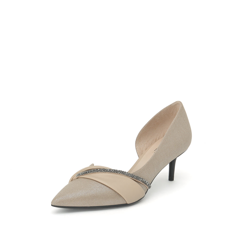 Linen Pumps - Joy & Peace staccato
