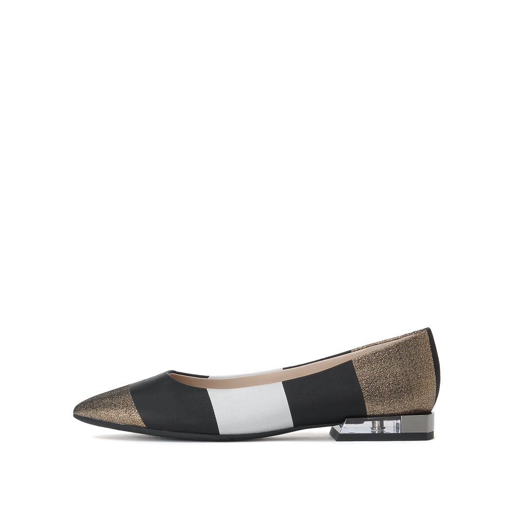 COLOR BLOCK FLATS - Joy & Peace staccato