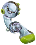 Pipe with Green Accents