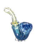 DankStop - Standing Colored Glass Sherlock Pipe