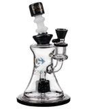 Diamond Glass Big Puck Dab Rig in Black