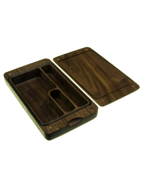 Wooden Case for Dry Herbs & Accessories