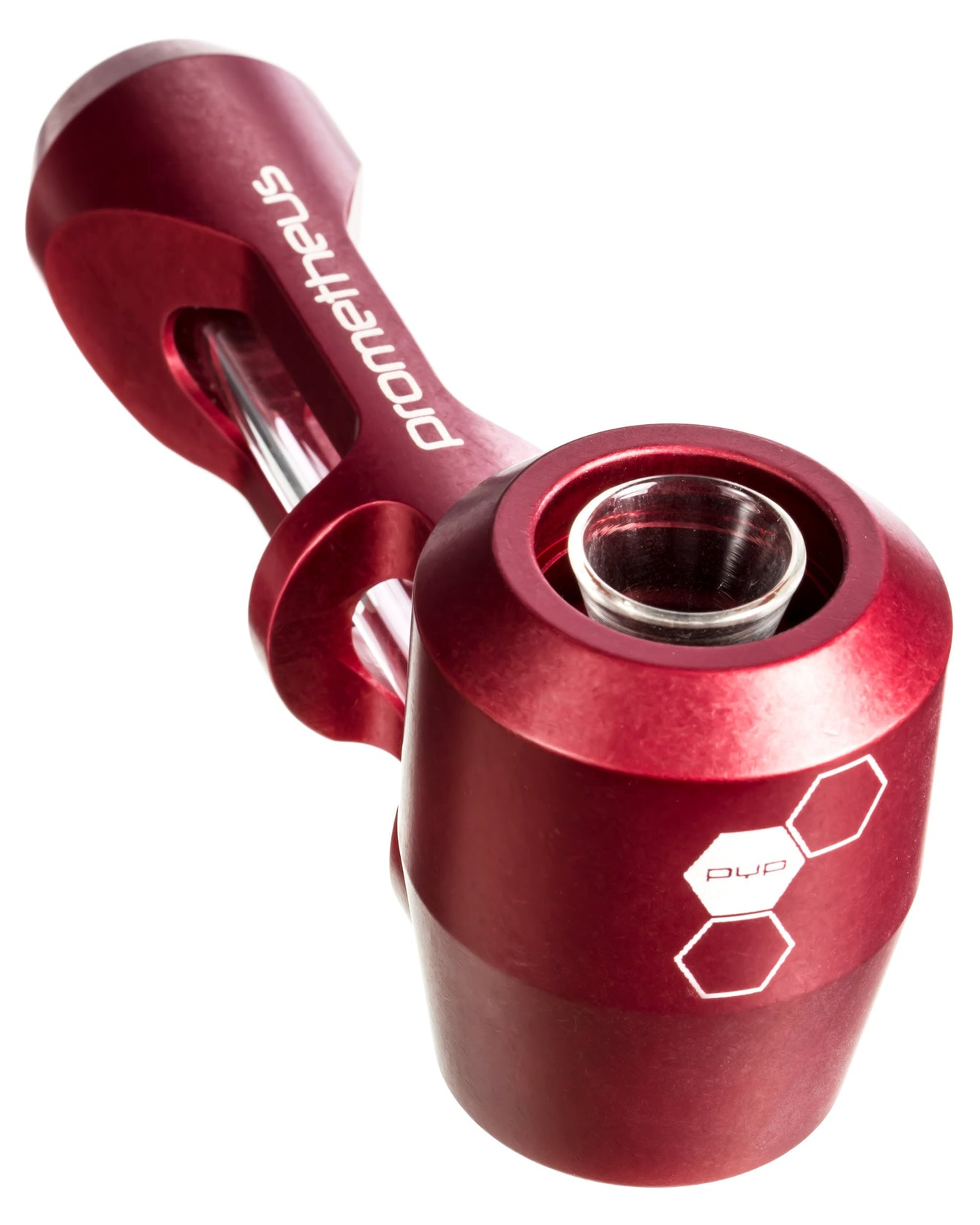 Red Pyptek Prometheus Titan Hand Pipe
