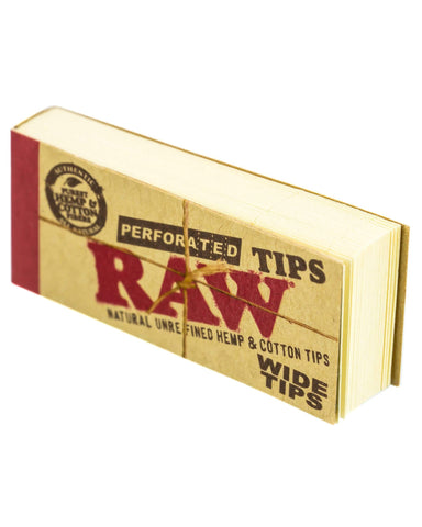 Wide Rolling Paper Tips