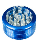 Blue 2-Piece Pop Up Diamond Teeth Grinder