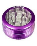 Purple 2-Piece Pop Up Diamond Teeth Grinder