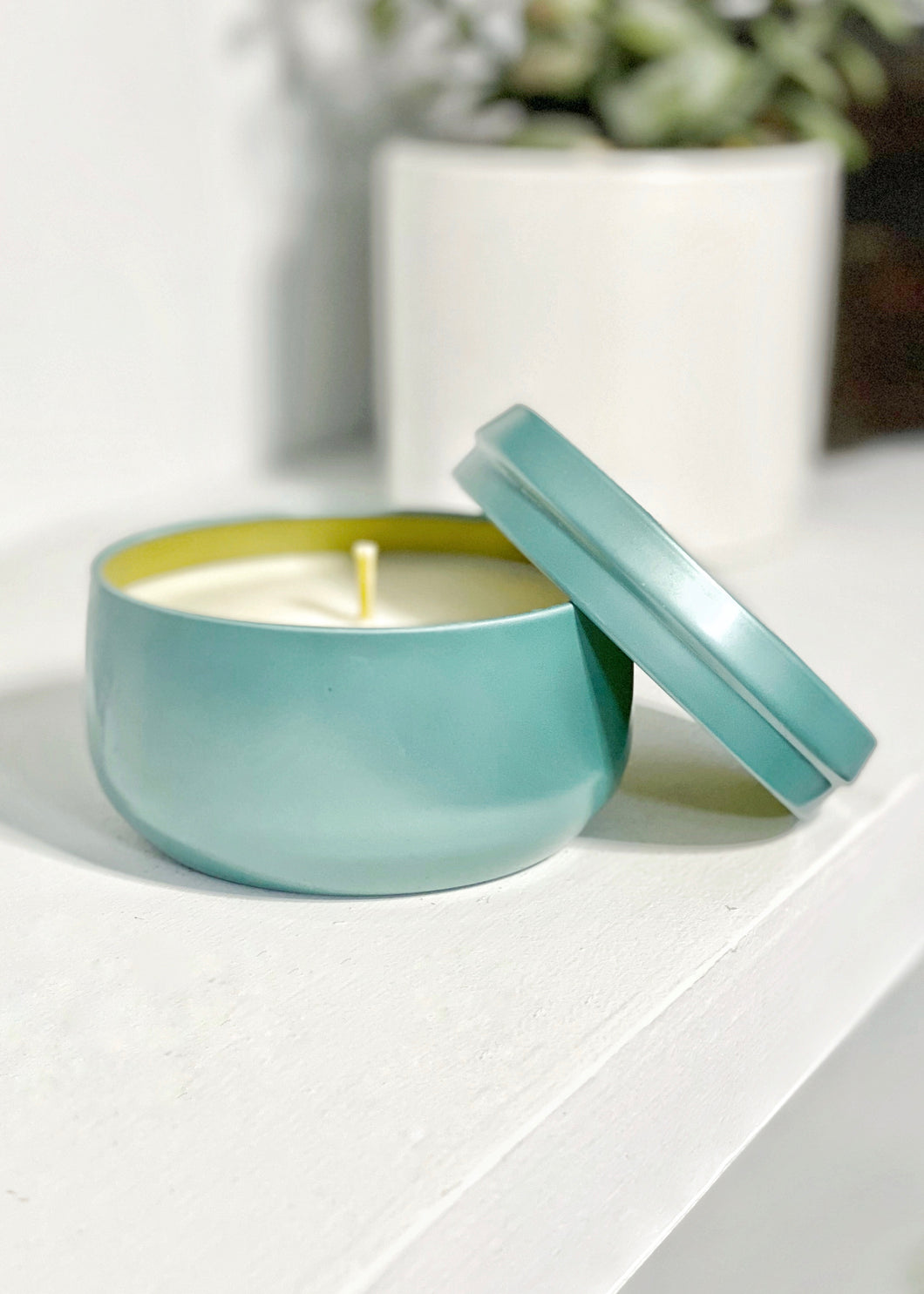 Teal Vibes Candle