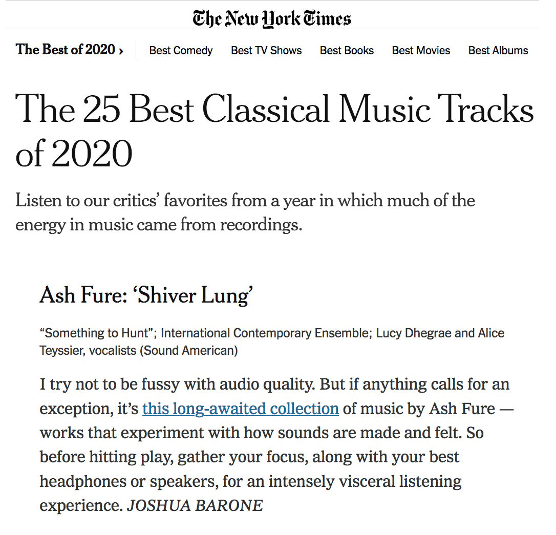 New York Times - Shiver Lung