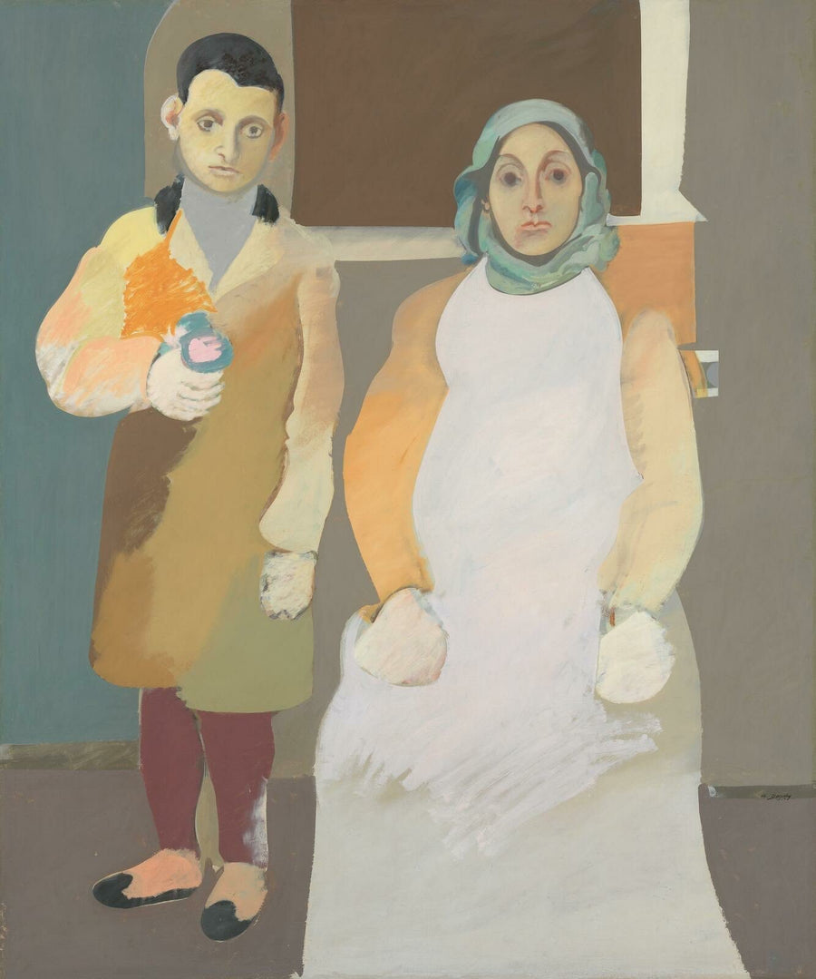 The Artist and His Mother, c. 1926-36 by Arshile Gorky