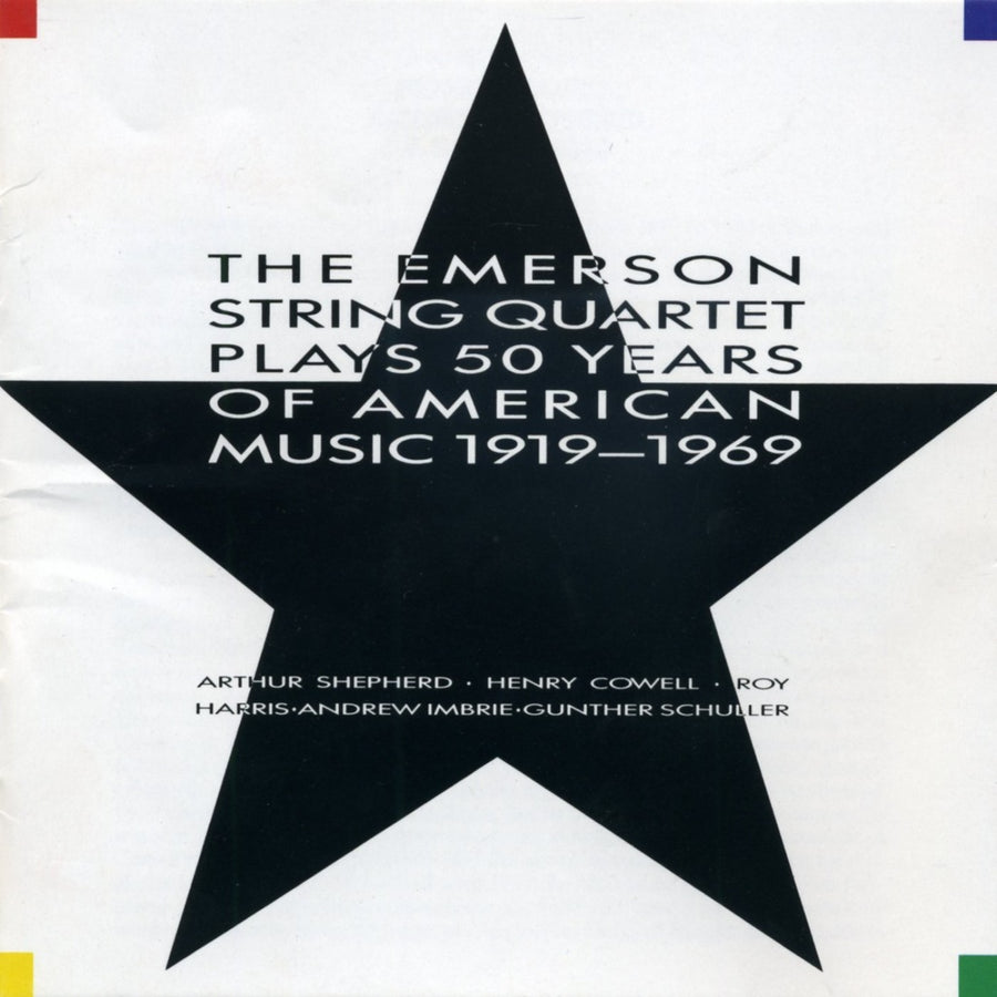 The Emerson String Quartet Plays 50 Years of American Music 1919-1969