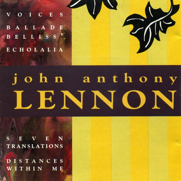 Music of John Anthony Lennon