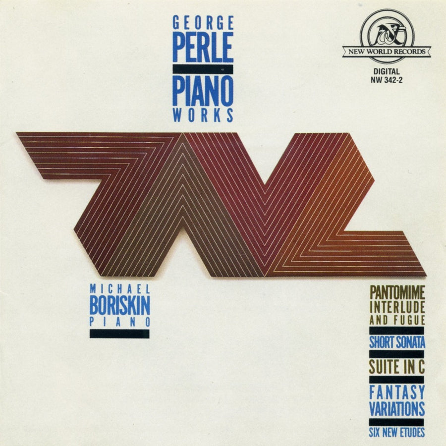 George Perle: Piano Works