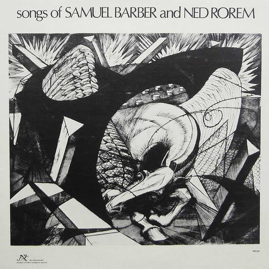 Songs of Samuel Barber and Ned Rorem