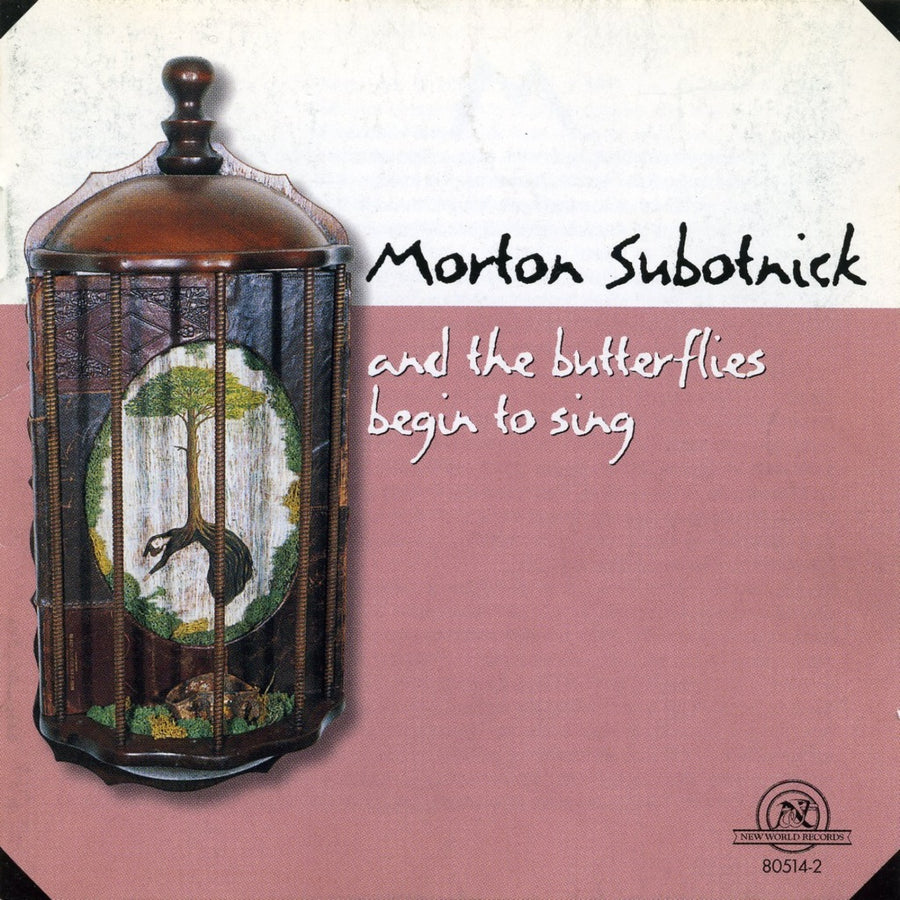 Morton Subotnick: And the Butterflies Begin to Sing