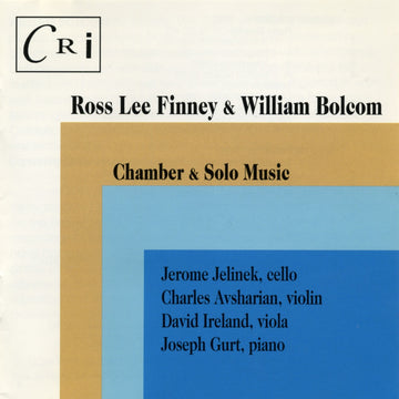 Chamber & Solo Music of Ross Lee Finney & William Bolcom